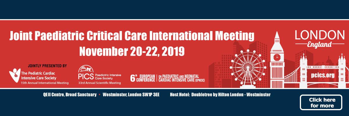 PCICS-PICS London Meeting